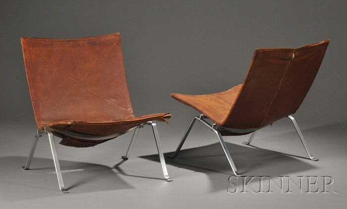 Pair of Poul Kjaerholm (1929-1980) Chairs
