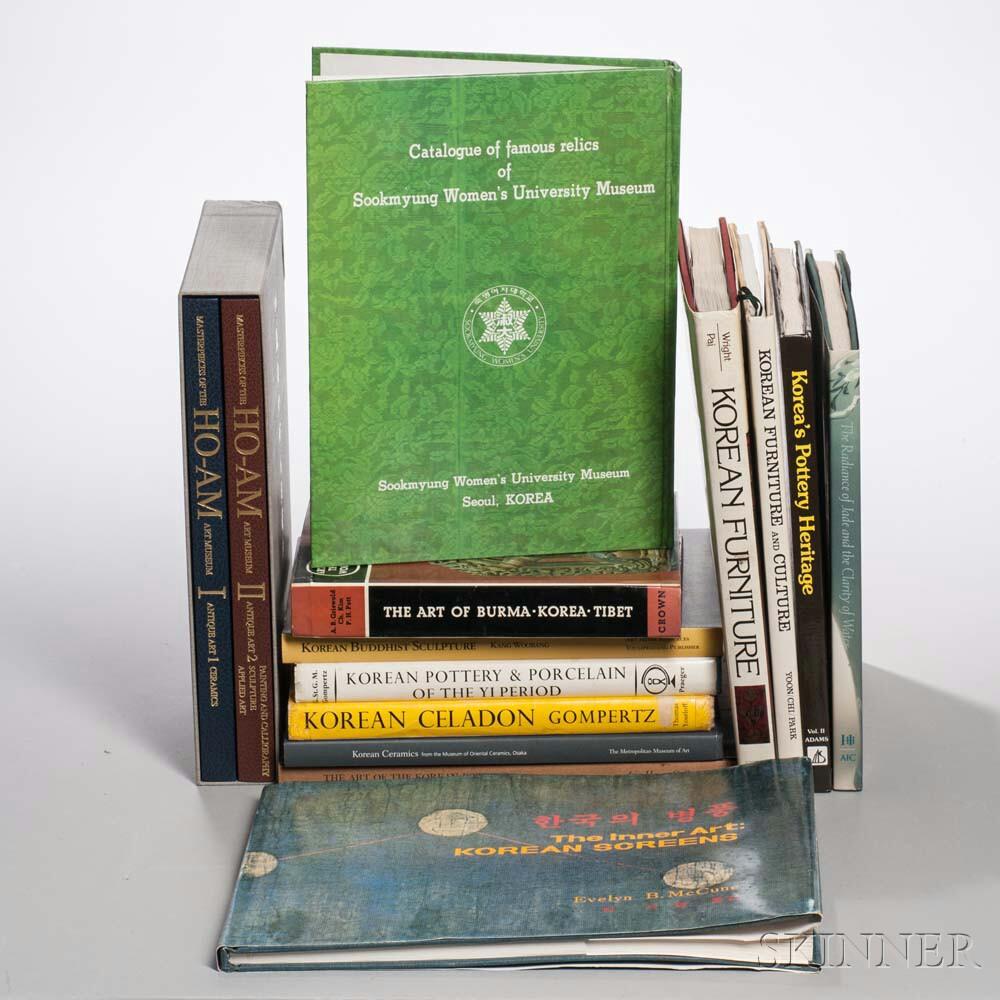 Thirteen Books on Korean Art