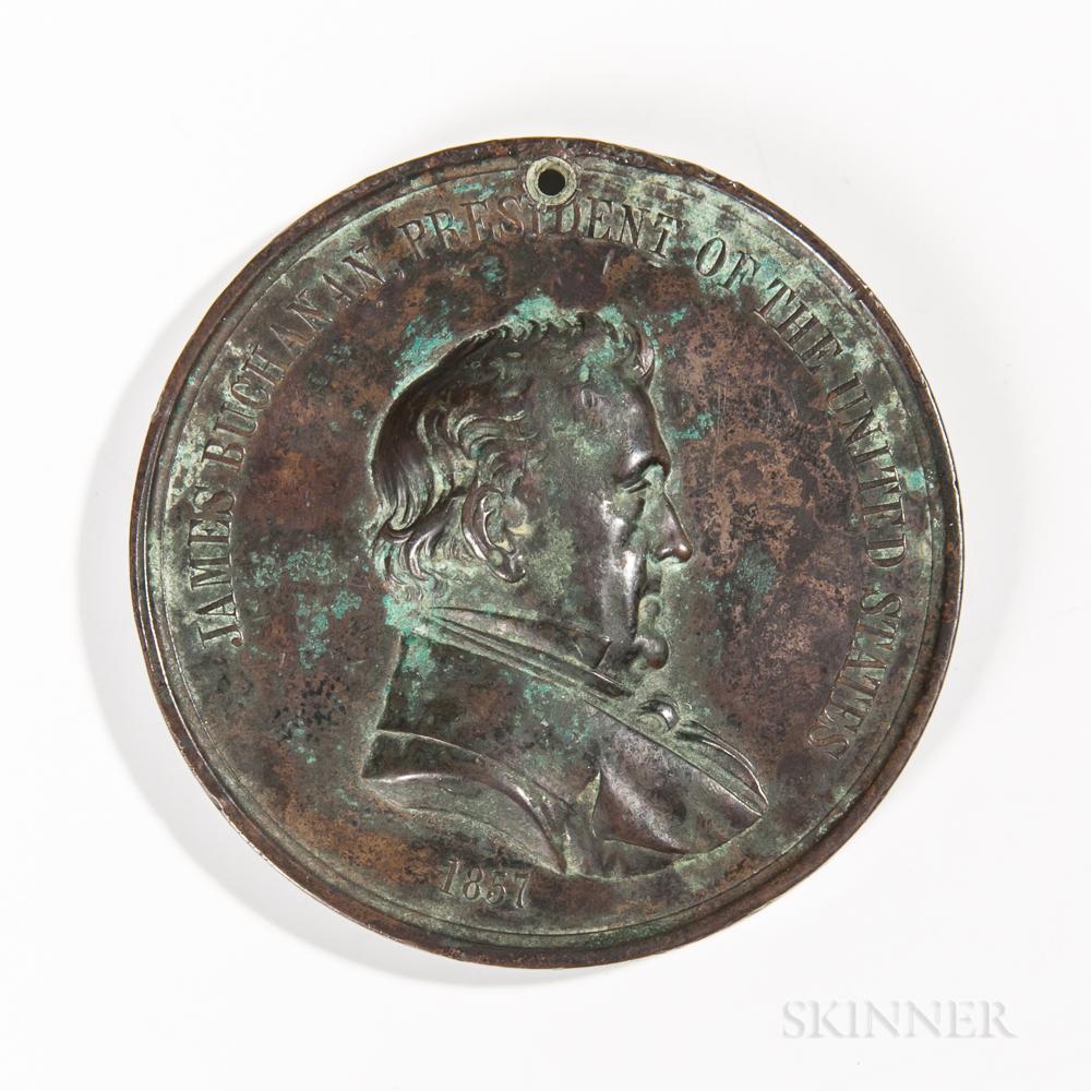 James Buchanan Peace Medal