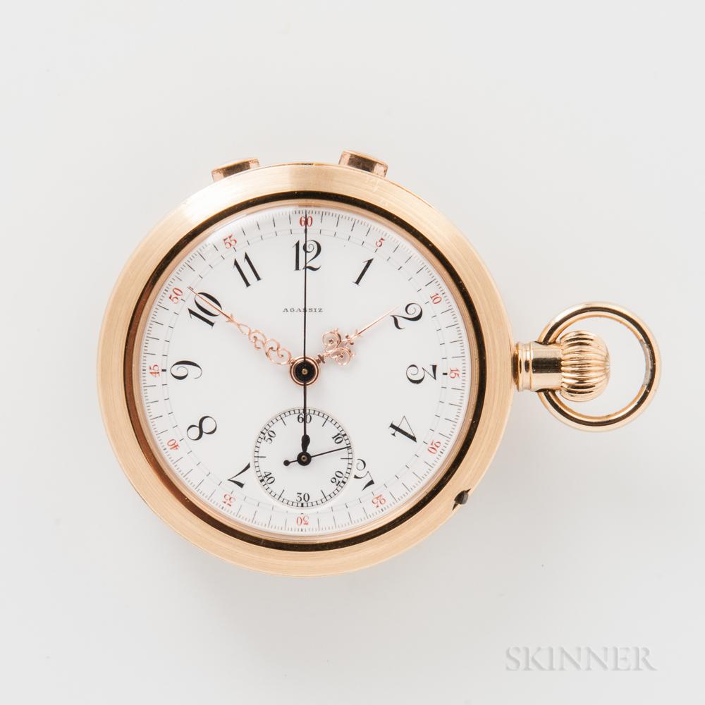 Agassiz Split-second Pocket Chronograph