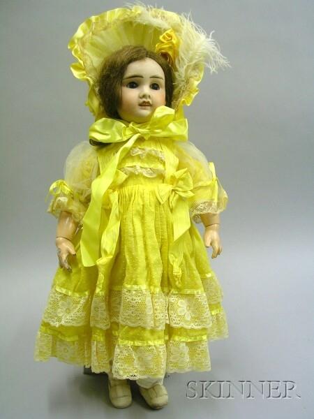 Verlingue Bisque Walking Doll