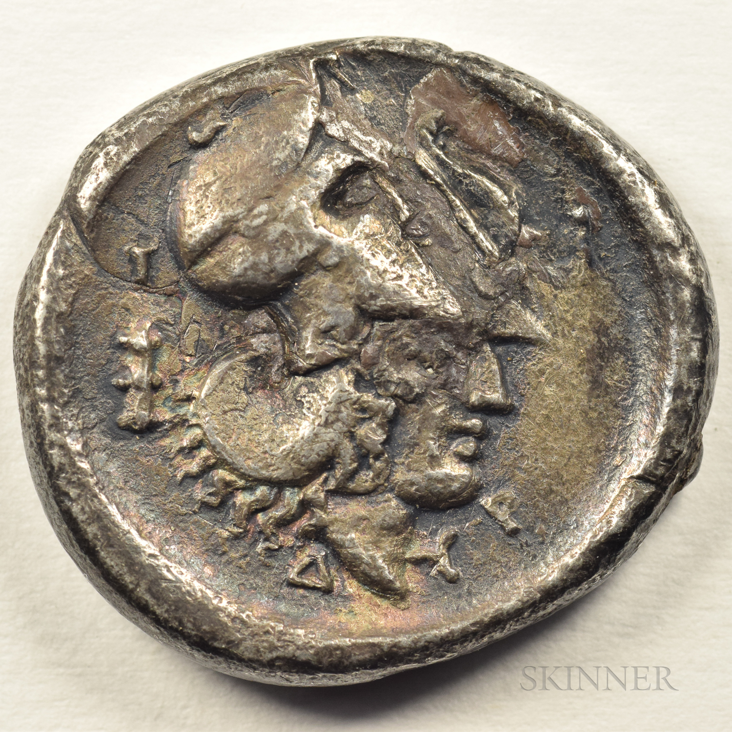 Ancient Greek Stater Silver Piece