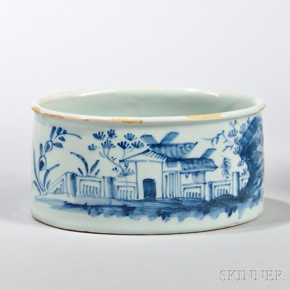 Tin-glazed Earthenware Potting Pot