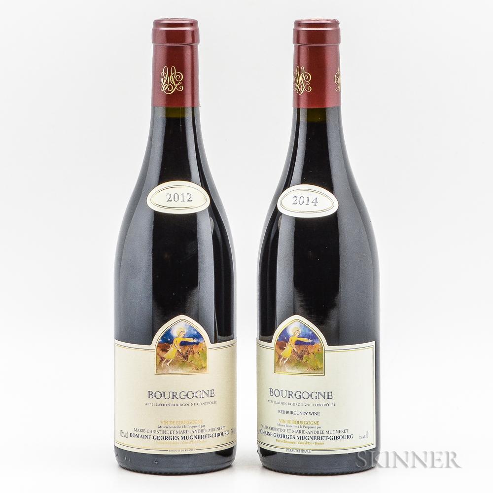 Georges Mugneret Gibourg Bourgogne, 2 bottles