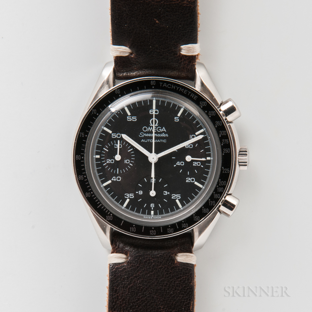 "Omega ""Speedmaster"" Reduced Automatic Wristwatch"