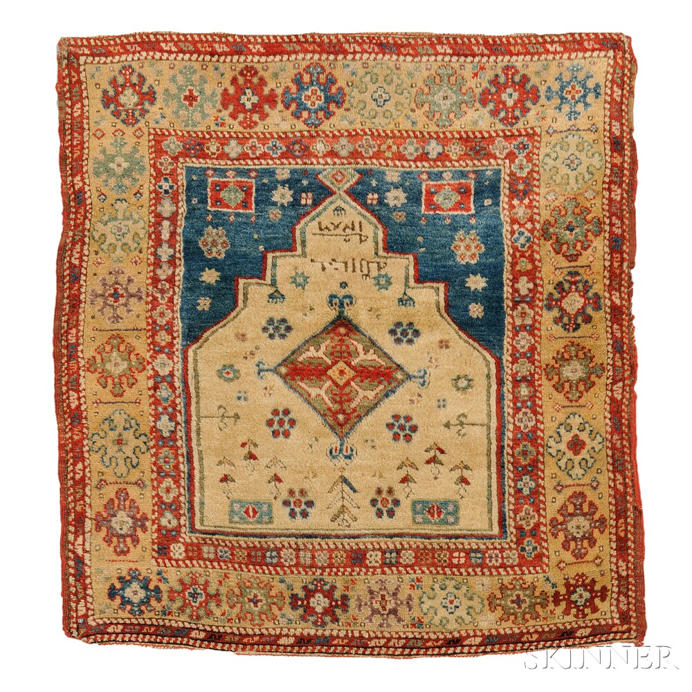 Prayer Rug Types: Sale Number 2752B, Lot Number