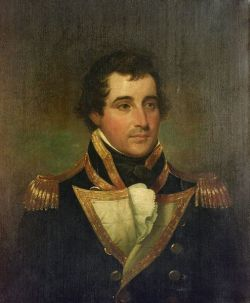 Attributed to John Trumbull (American, 1756-1843)  Portrait of Captain Richardson