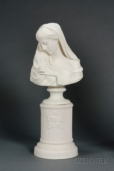 Copeland Parian Bust of The Mother