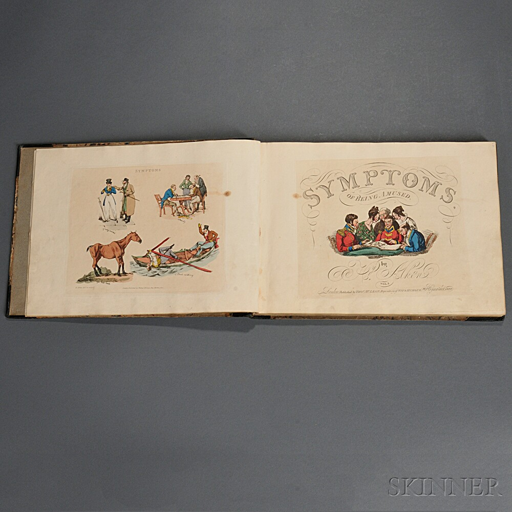 Alken, Henry Thomas (1785-1851) Symptoms of Being Amused.
