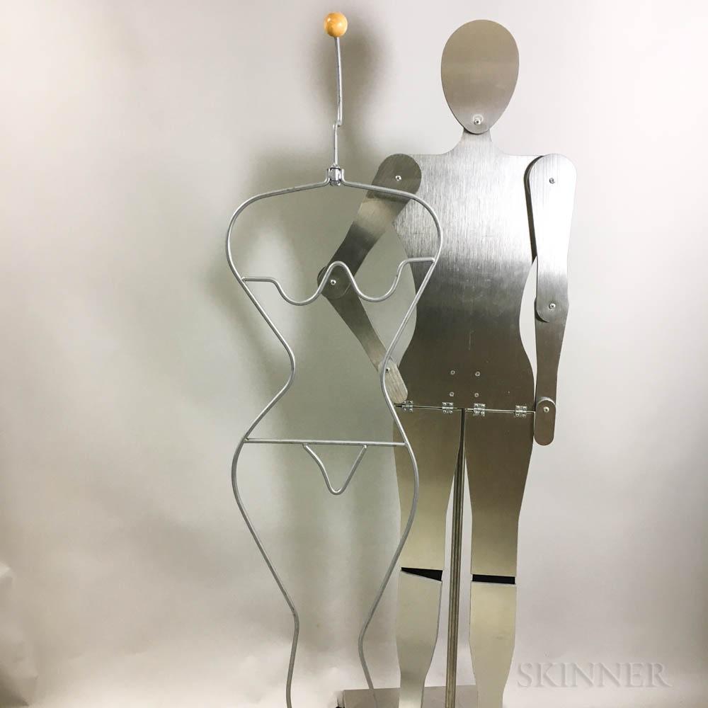 Two Modernist Mannequins