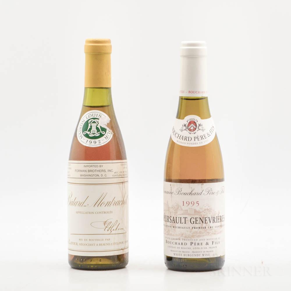Burgundy Demi Duo, 2 demi bottles