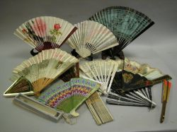 Collection of Thirteen Fans