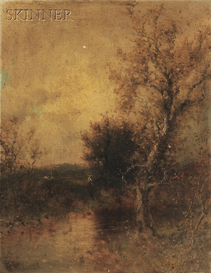 George Herbert McCord (American, 1848-1909)      Autumn Landscape