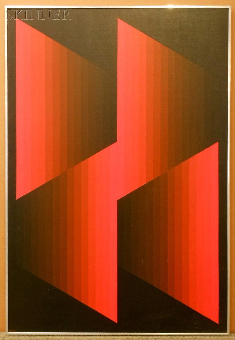 Hannes Beckmann (German/American, 1909-1976)      Four Units