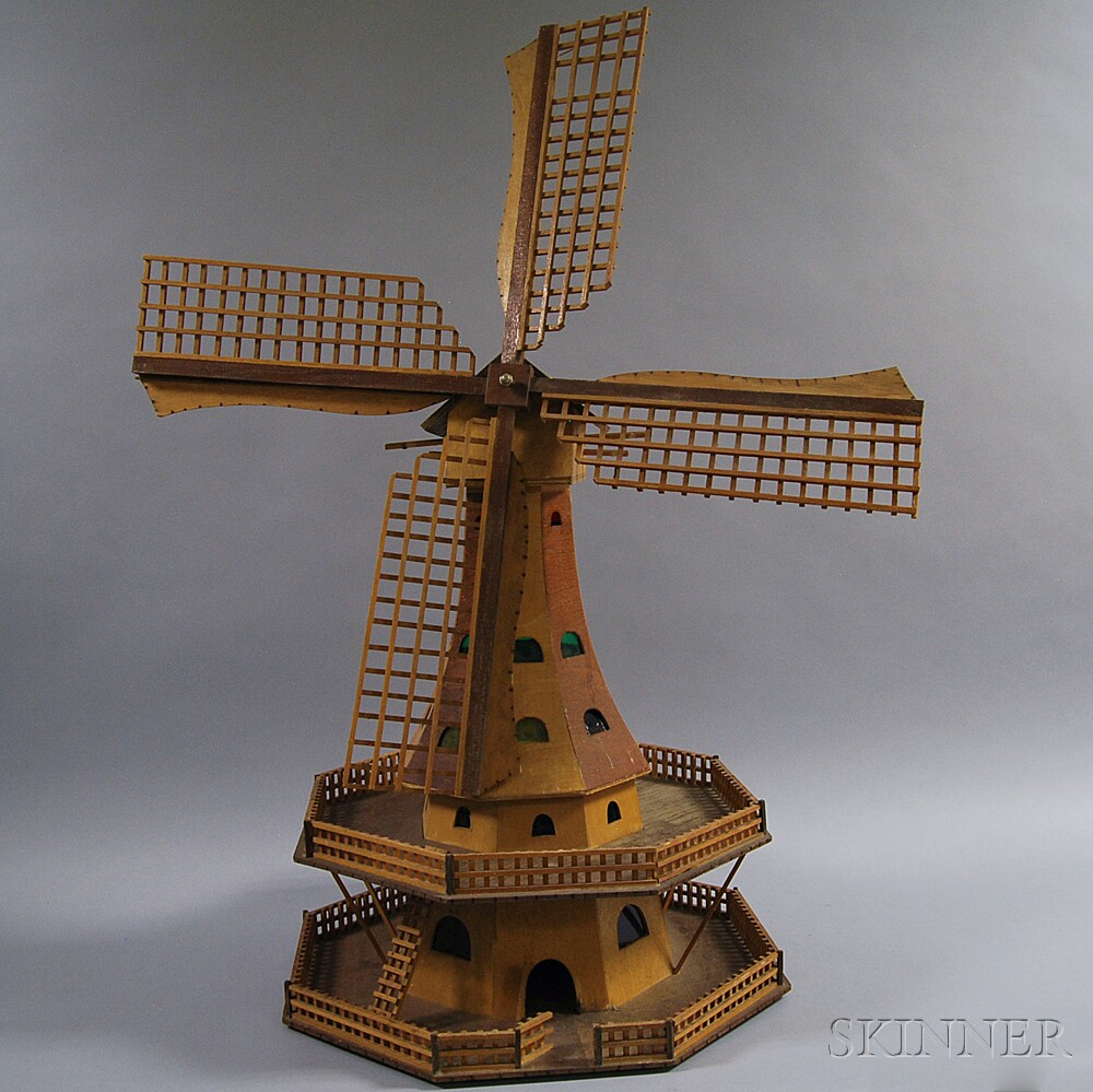 Dutch-style Windmill Structure