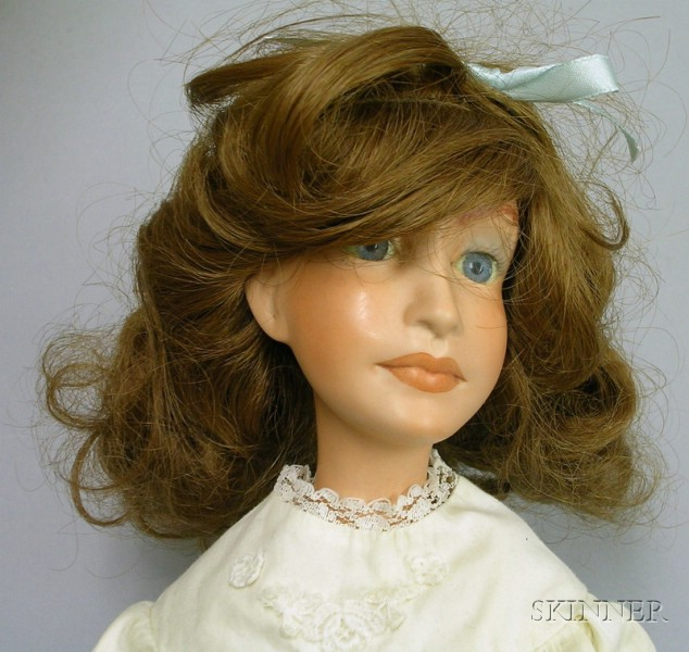 "Contemporary Artist Doll ""Abby"" by Avigail Brahms"