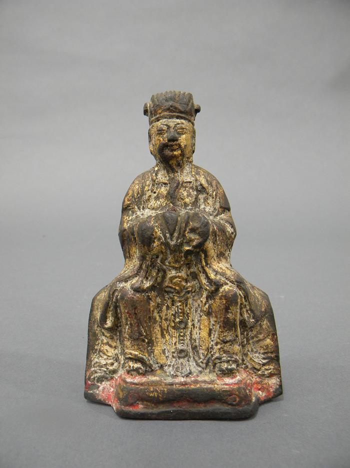 Gilt-bronze Figure