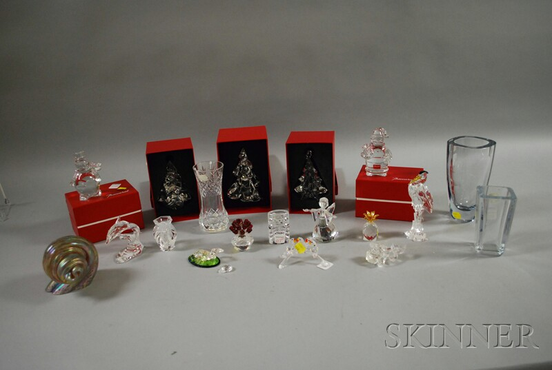 Group of Assorted Art Glass Items