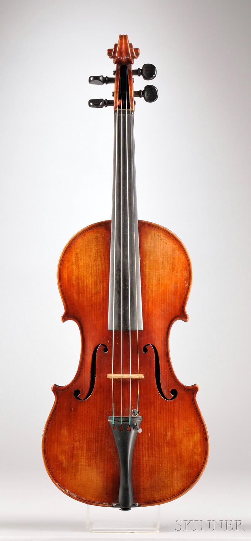 American Violin, Orin Weeman, Boston, 1904