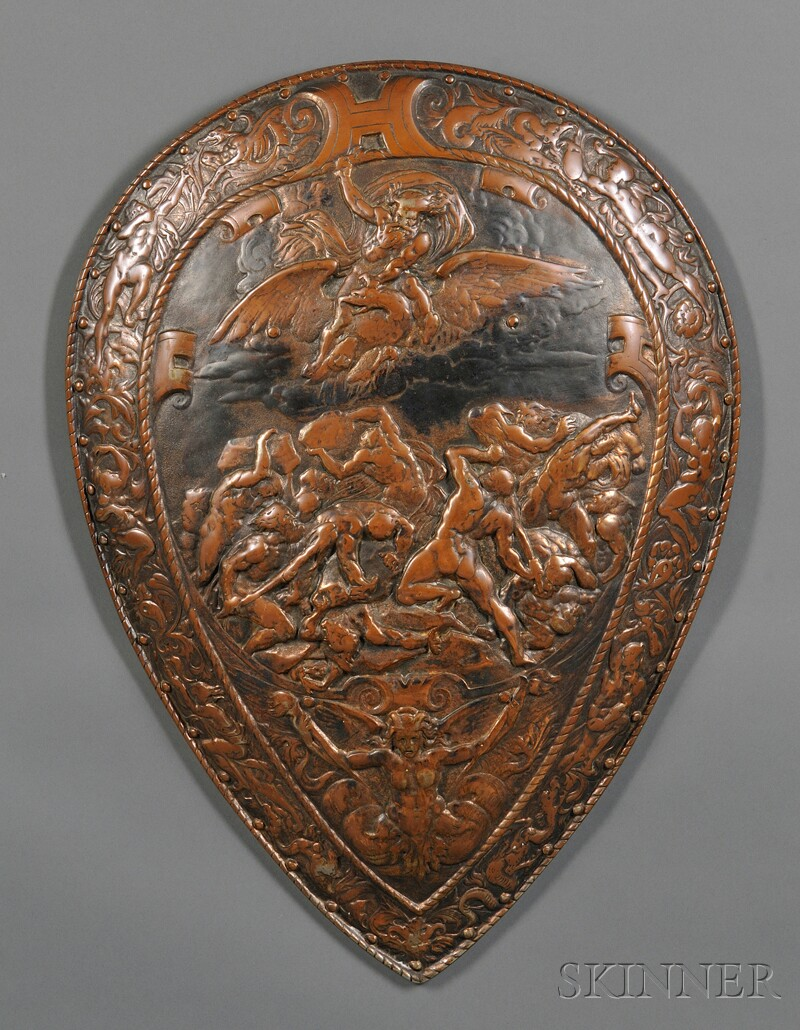 Decorative Iron Shield