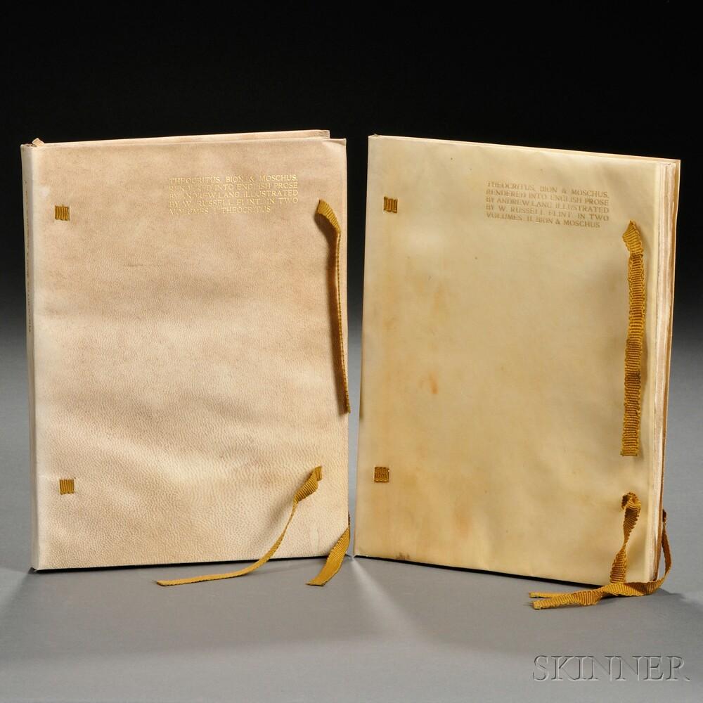 Theocritus (fl. circa 270 BC), Bion (2nd Century BC), and Moschus (fl. circa 150 BC) The Idyls
