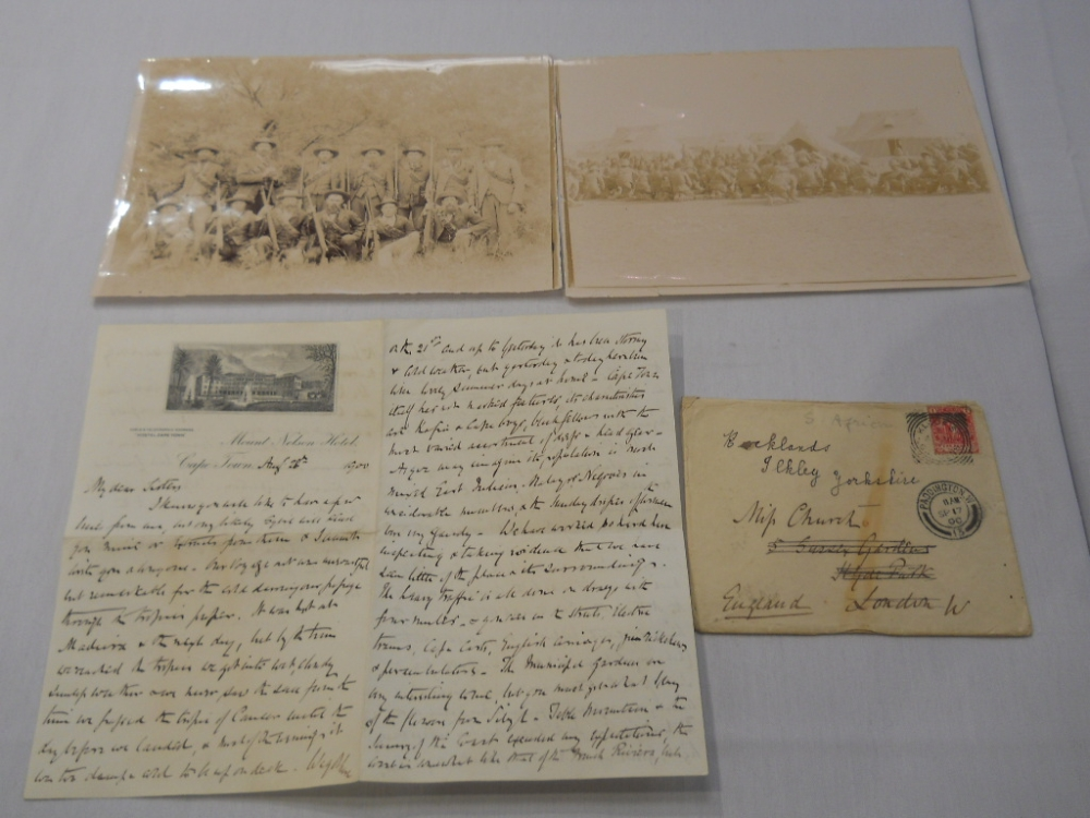 Boer War, Sir William Selby Church (1837-1928) Archive of Manuscript and Typed Material Related to Churchs Visit to South Africa in 19