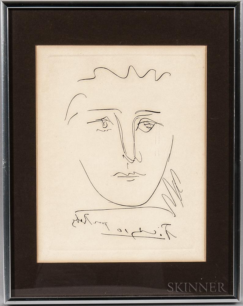 After Pablo Picasso (Spanish, 1881-1973)      L'Age de Soleil (pour Roby)