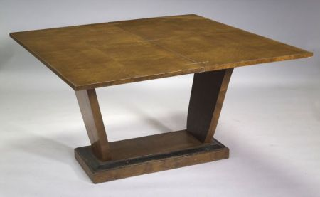 Art Deco  Fruitwood Table