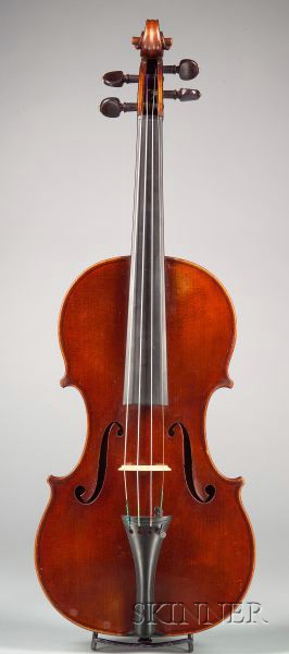 French Violin, Emile Germain, Paris, 1907