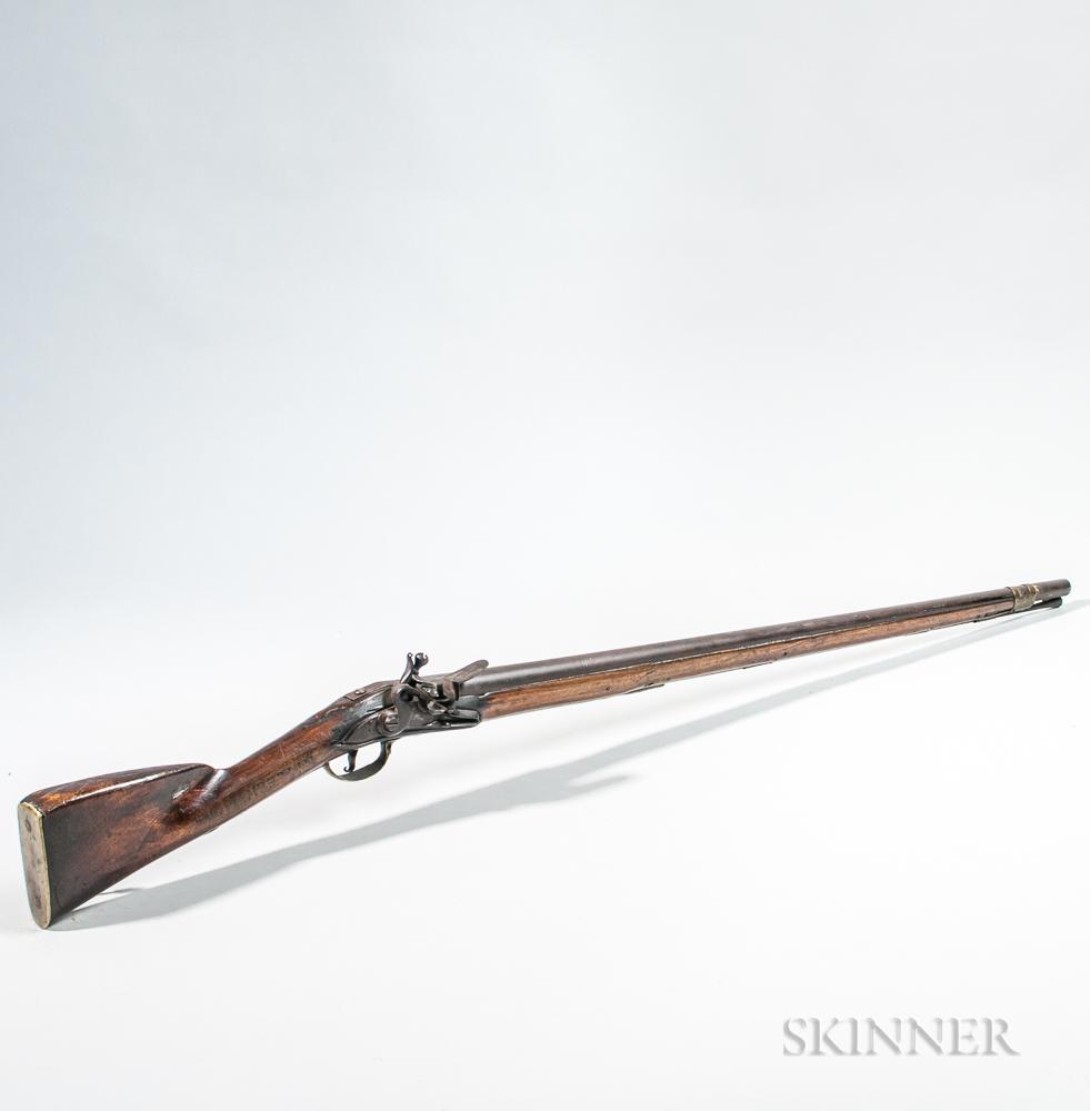 "Dutch Musket Branded ""E. Chamberlin,"""