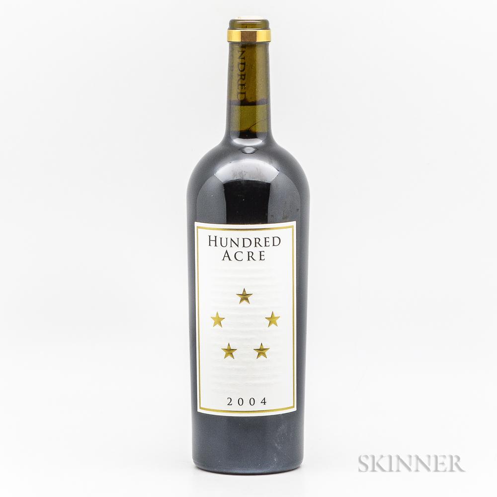 Hundred Acre Vineyard Shiraz Summers Block Ancient Way 2004, 1 bottle