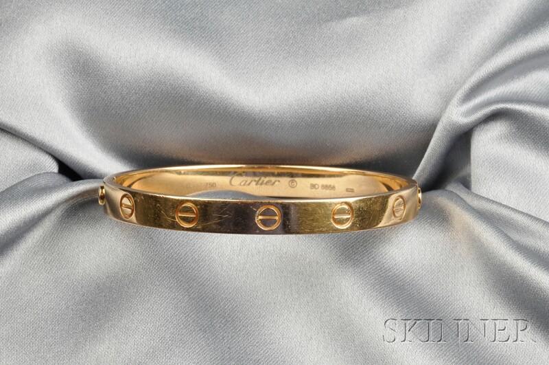 "18kt Gold ""Love"" Bracelet, Cartier"