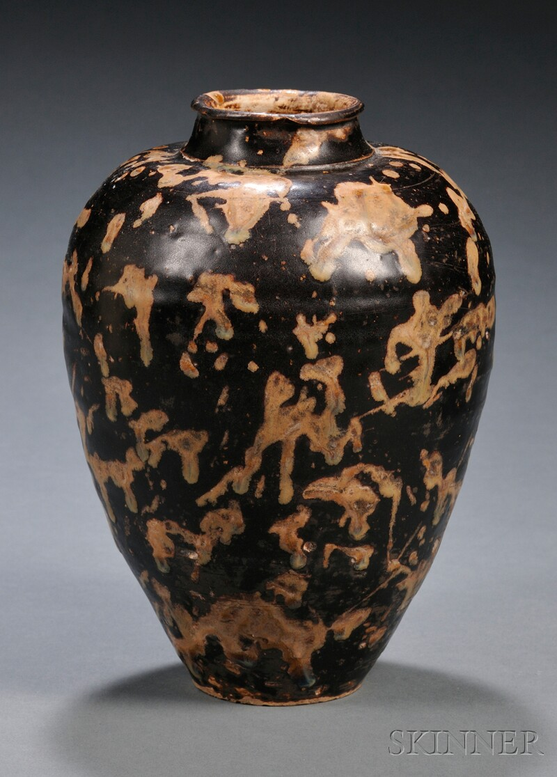 Stoneware Wine Jar
