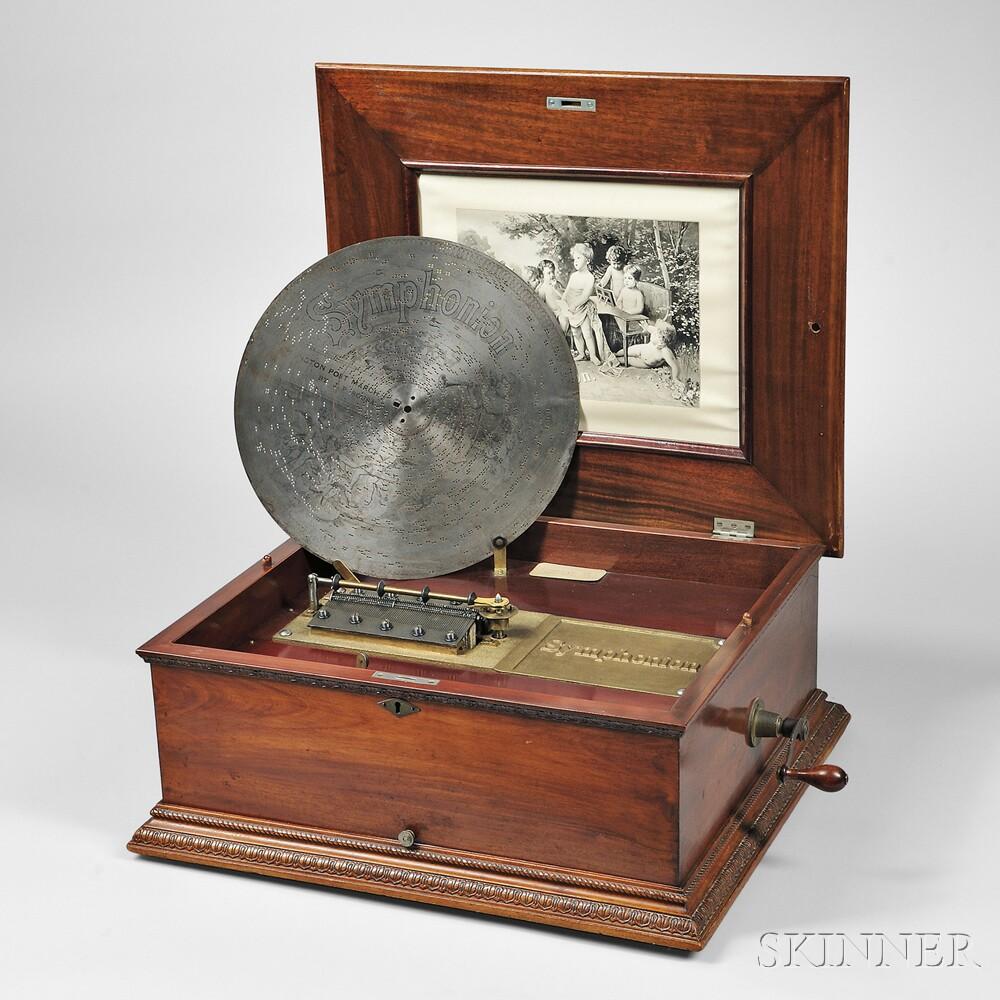 Symphonion 15-inch Disc Musical Box