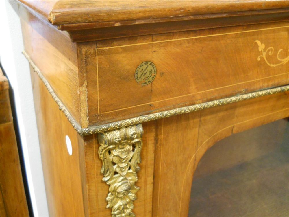 Louis XVI-style Gilt-bronze Mounted Cabinet-Display