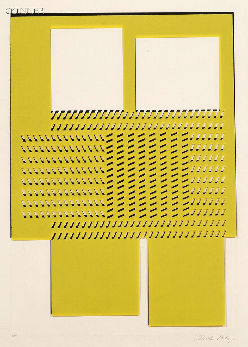 Victor Vasarely (French/Hungarian, 1906-1997)      Eleven Images