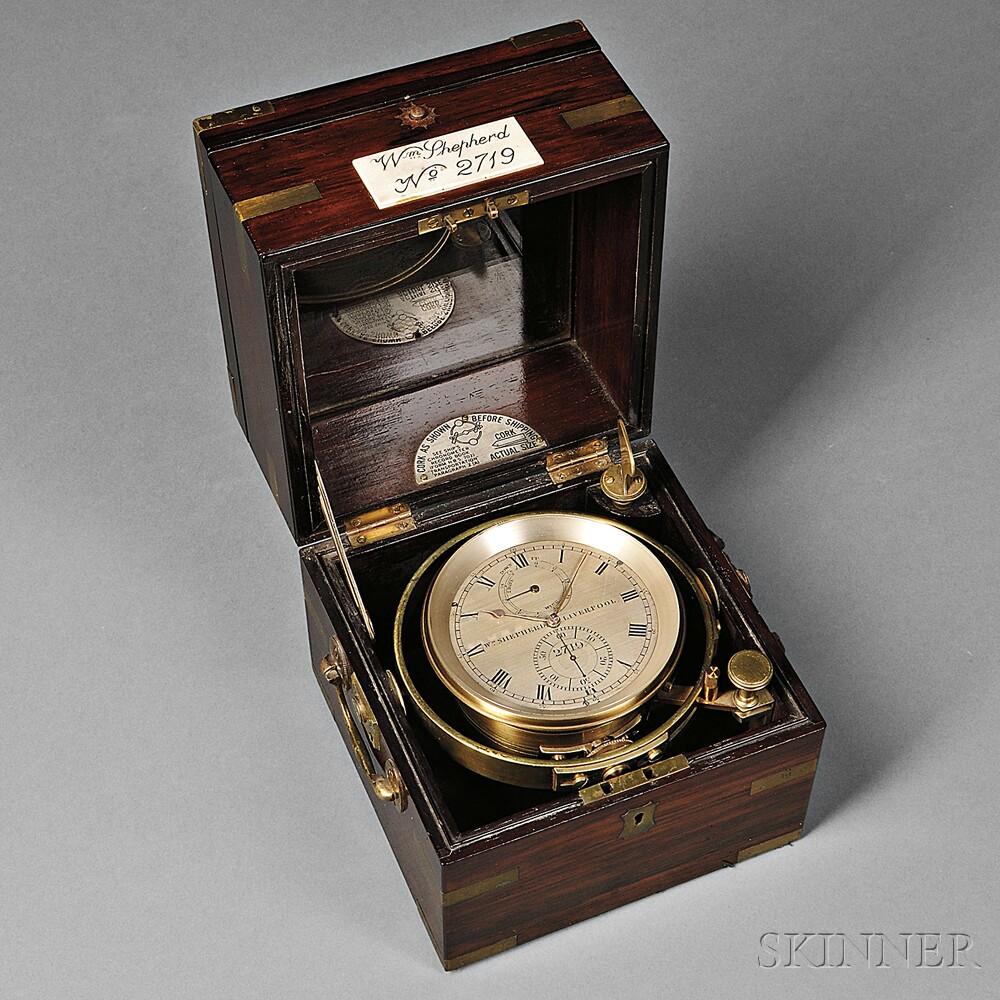 William Shepherd Two-day Marine Chronometer