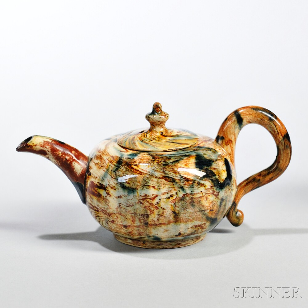Agate Ware Teapot and Cover
