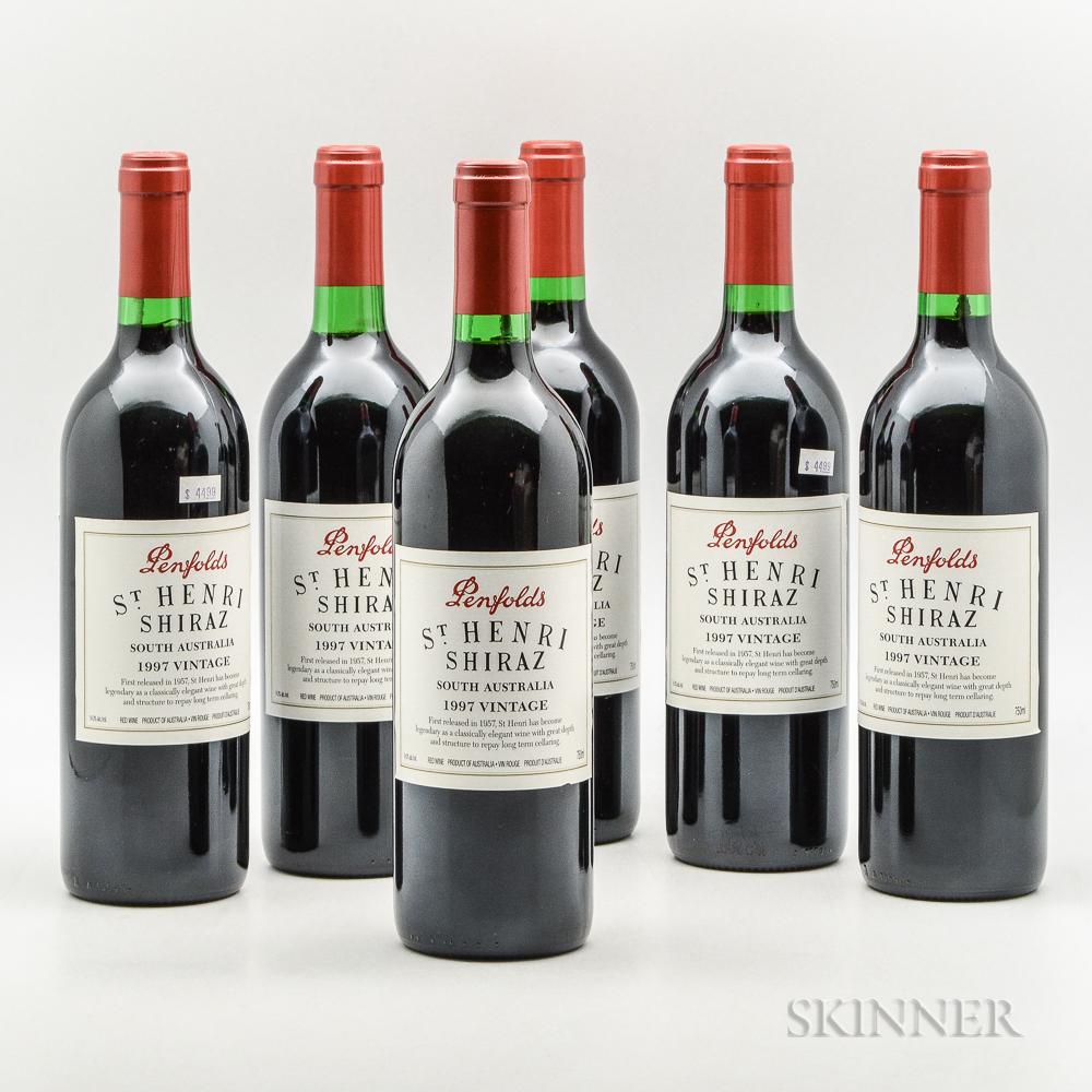 Penfolds St. Henri Shiraz 1997, 6 bottles
