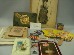 Collection of Paper, Ephemera and Collectibles