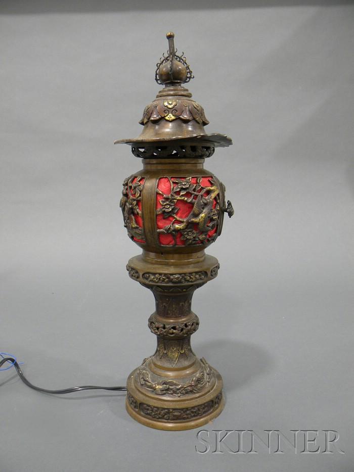 Bronze Lantern