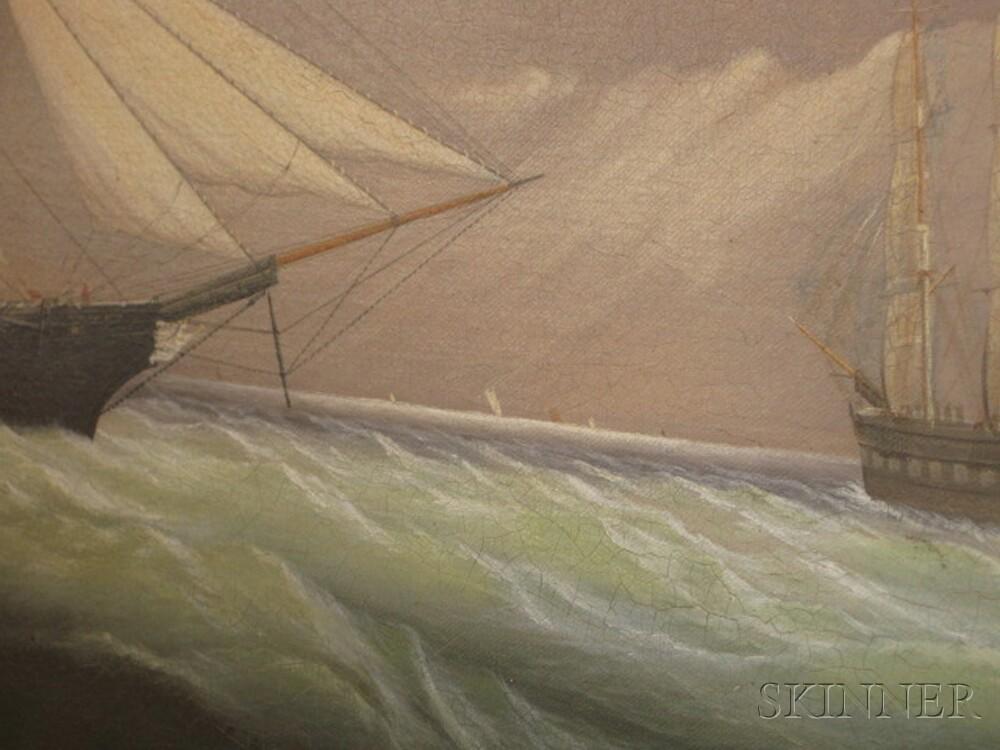 William Bradford (American, 1823-1892)    Queen of the Seas.