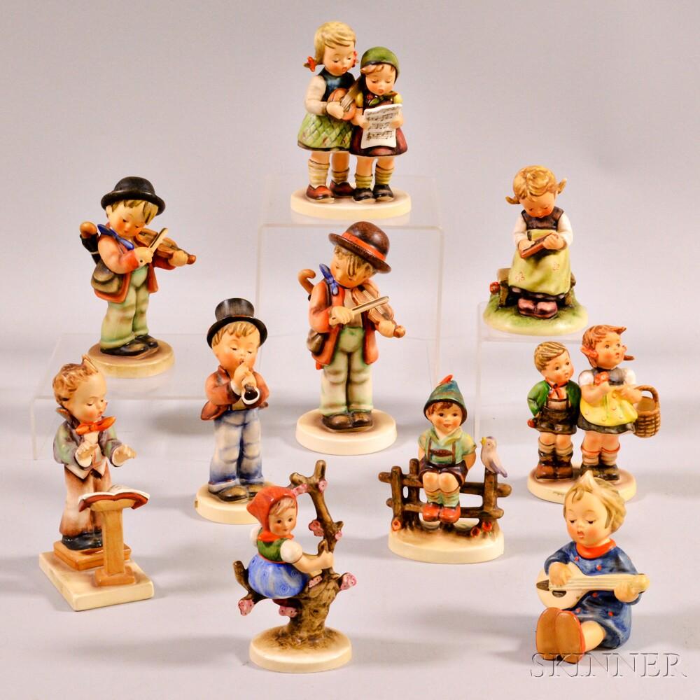 Ten Hummel Figures