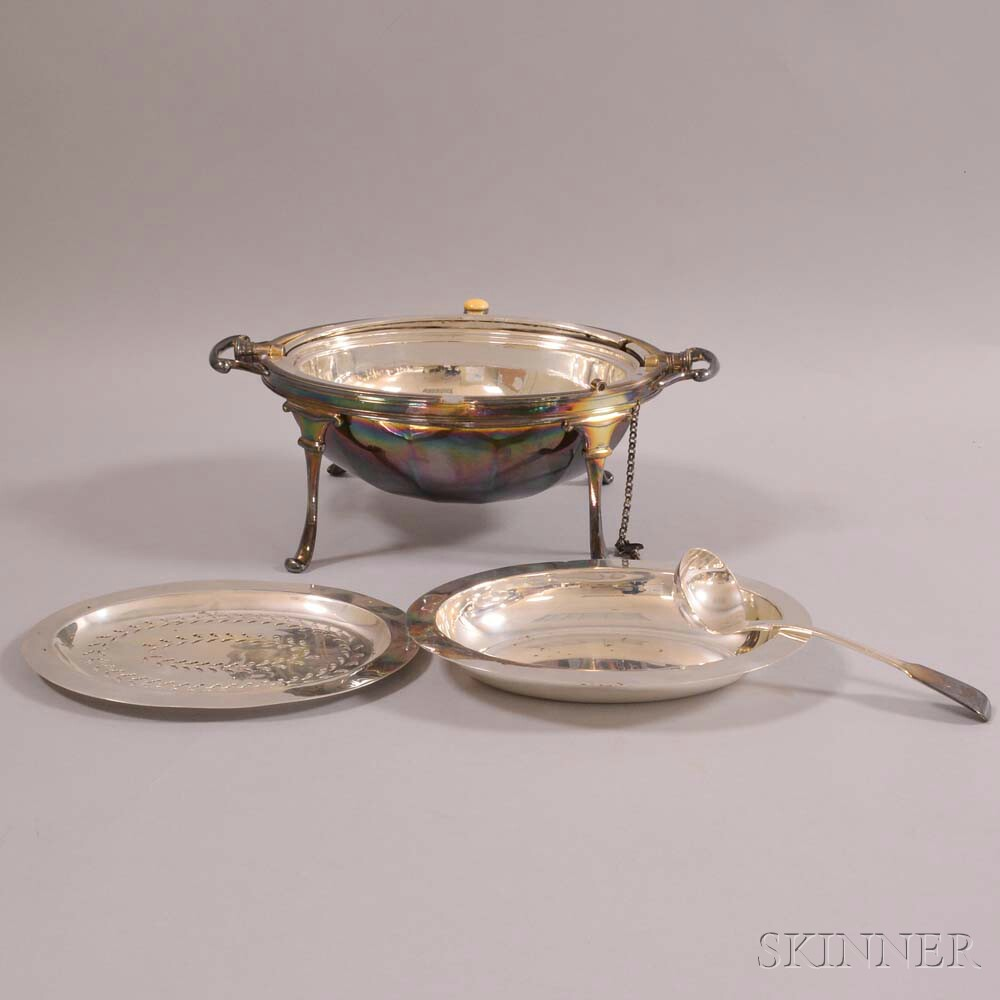 Silver-plated Domed Server