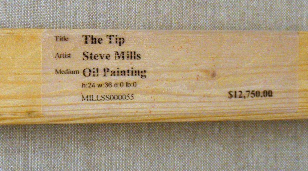 Steve Mills (American, b. 1959)      The Tip