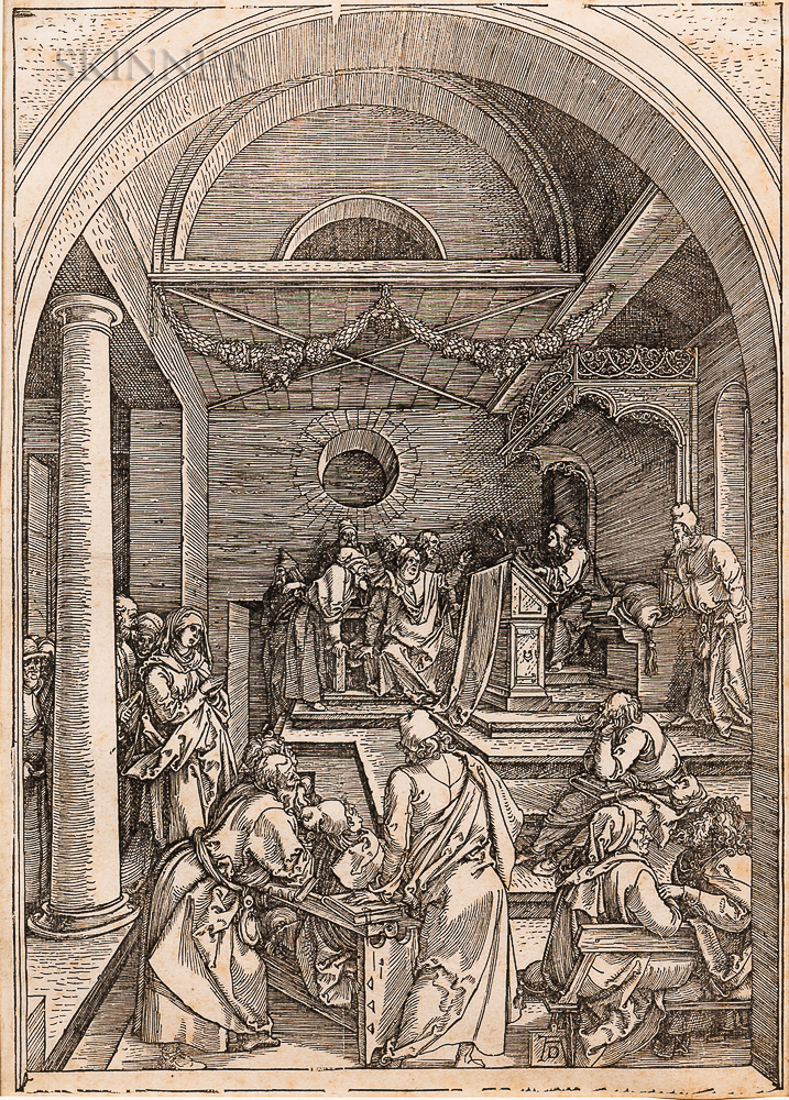 Albrecht Dürer (German, 1471-1528)      Christ Among the Doctors