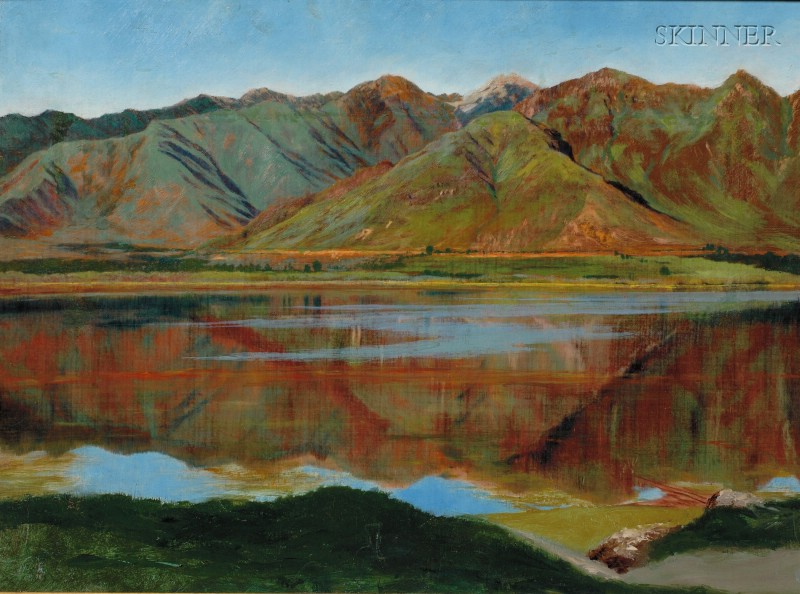 James Rogers Rich (American, 1847-1910)      Dahl Lake, Kashmir
