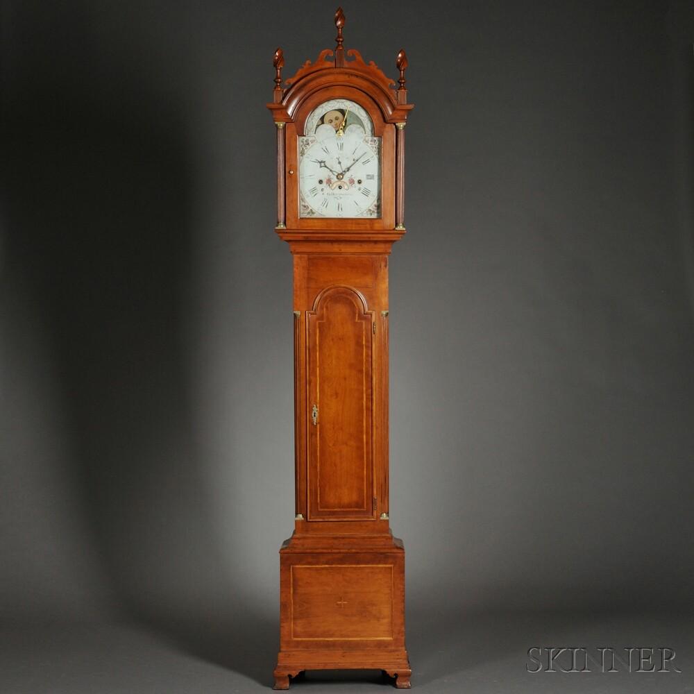 Gurdon Huntington Musical Tall Clock