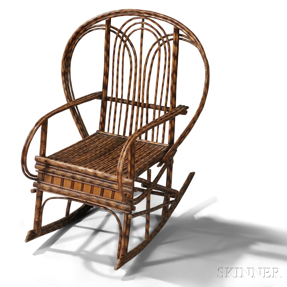 Child's Arts and Crafts Movement Willow Armchair