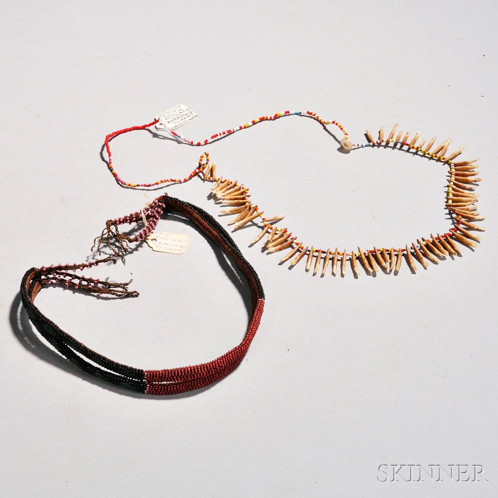 Two Ethnographic Necklaces